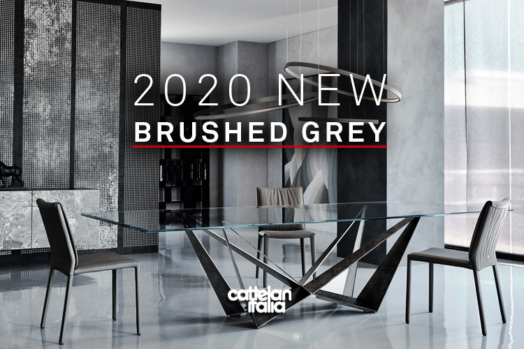 Nuova finitura Brushed Grey preview